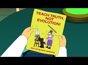 Spanking and Creationists – a match made in heaven?